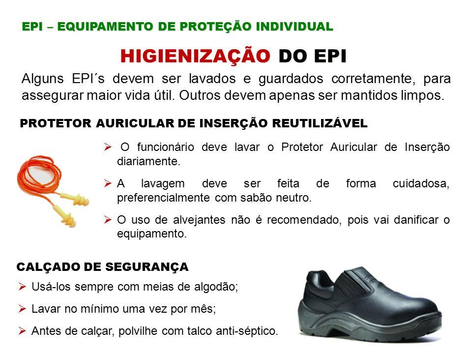 PROTETOR AURICULAR DE INSERÇÃO REUTILIZÁVEL