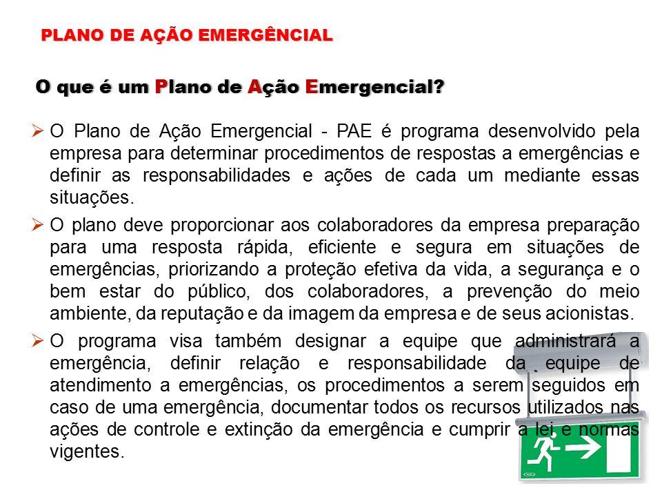 O que é um Plano de Ação Emergencial