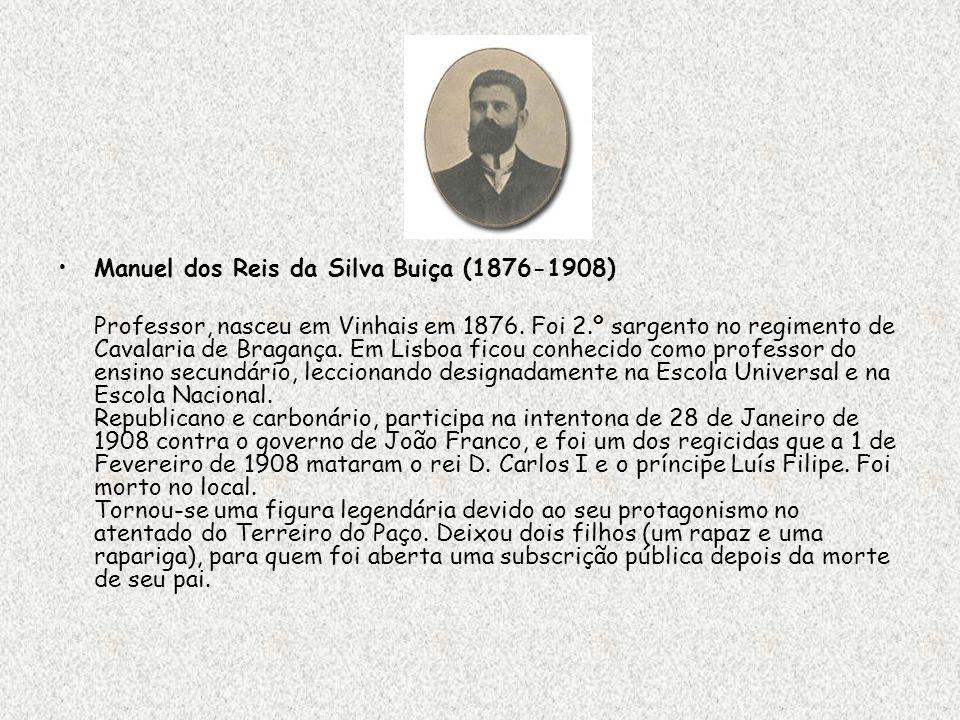 Manuel dos Reis da Silva Buiça (1876-1908)