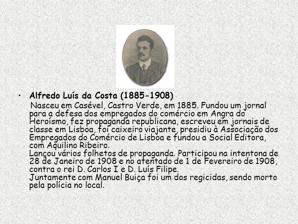 Alfredo Luís da Costa (1885-1908)