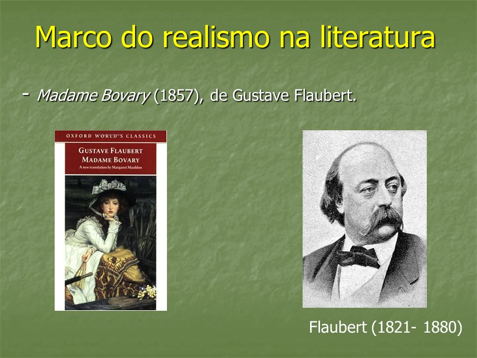 Marco do realismo na literatura