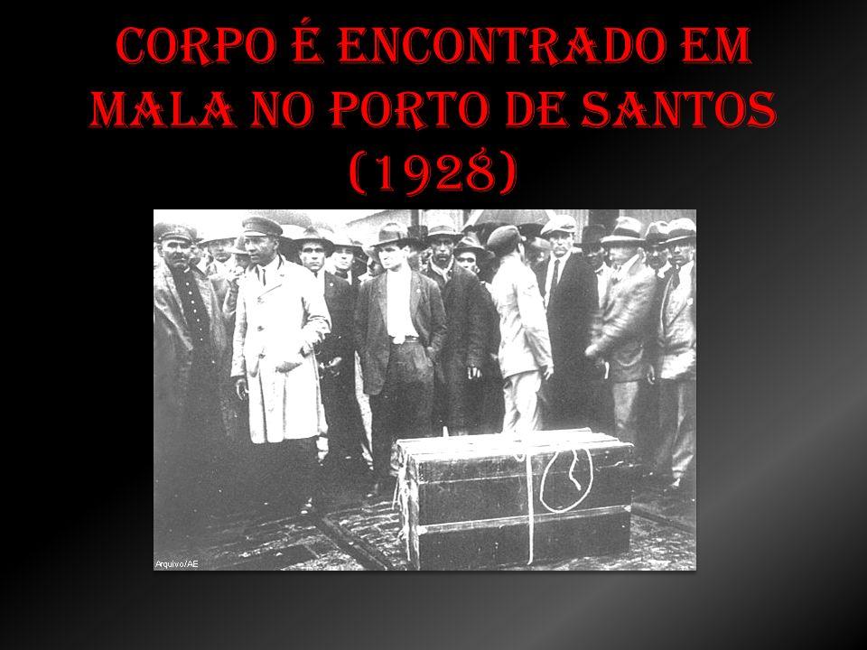Corpo é encontrado em mala no porto de Santos (1928)