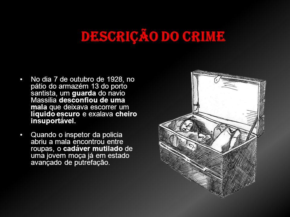 Descrição do crime