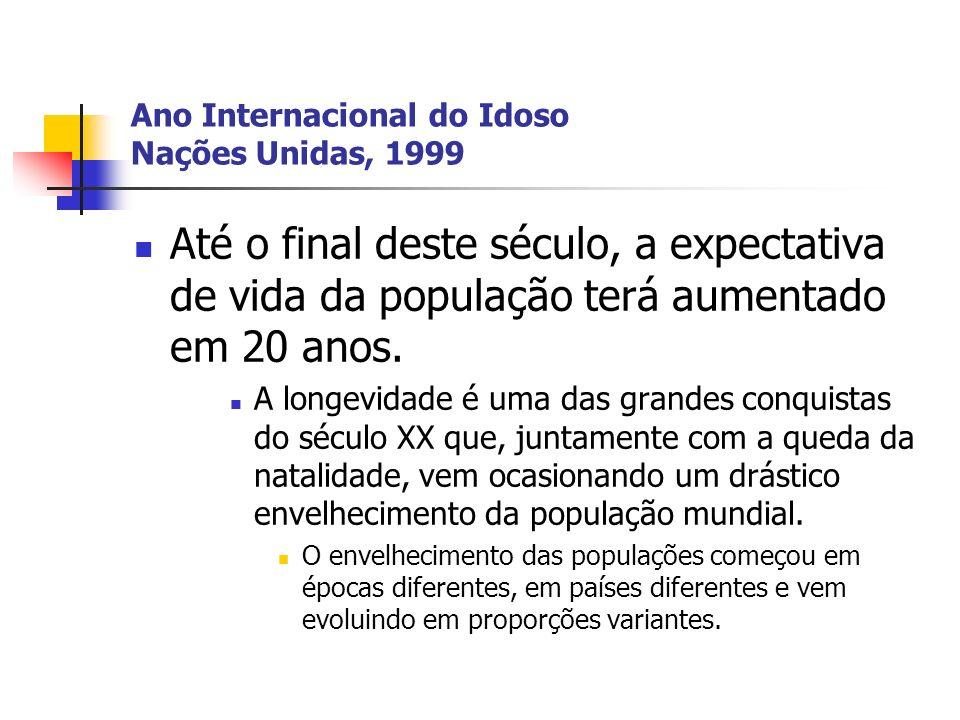 Ano Internacional do Idoso Nações Unidas, 1999