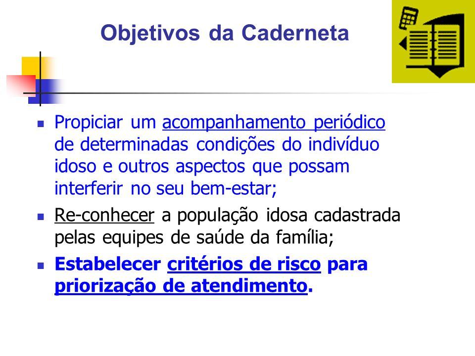Objetivos da Caderneta