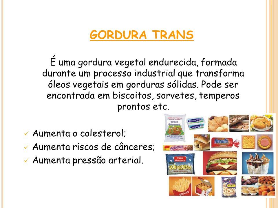 GORDURA TRANS