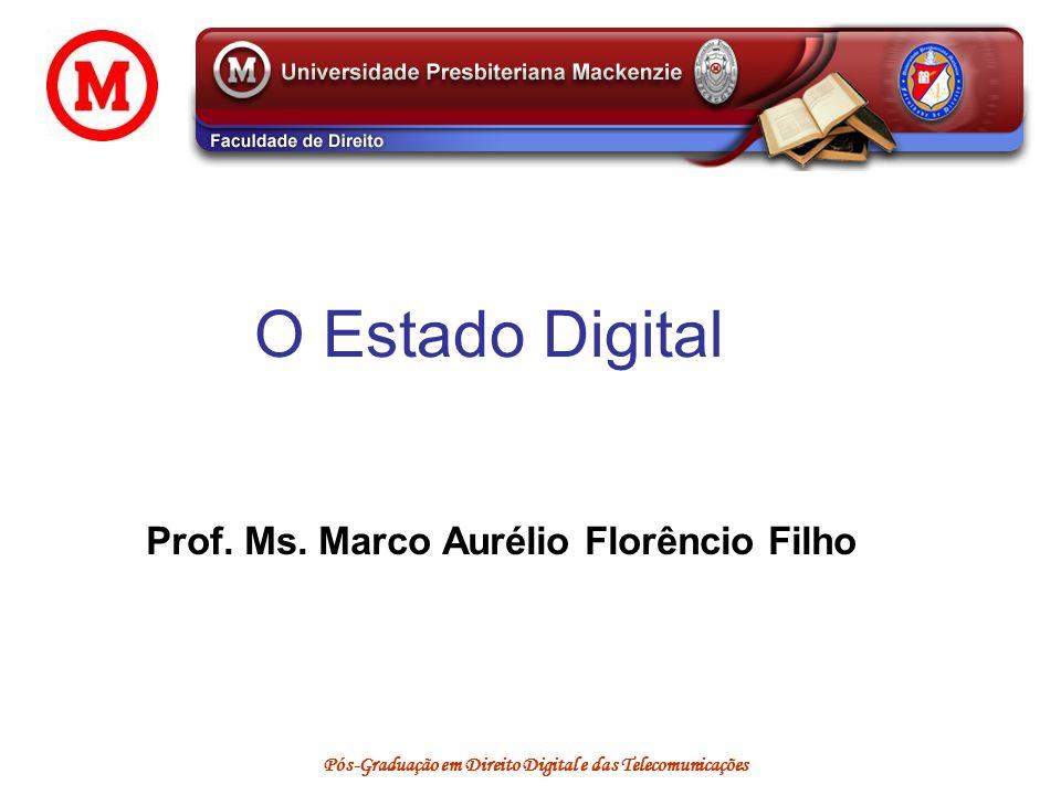 Prof. Ms. Marco Aurélio Florêncio Filho
