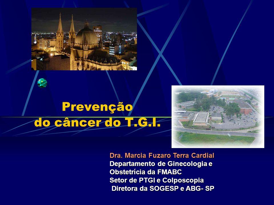 Prevenção do câncer do T.G.I.
