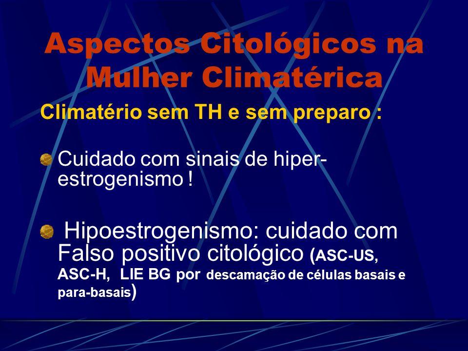Aspectos Citológicos na Mulher Climatérica