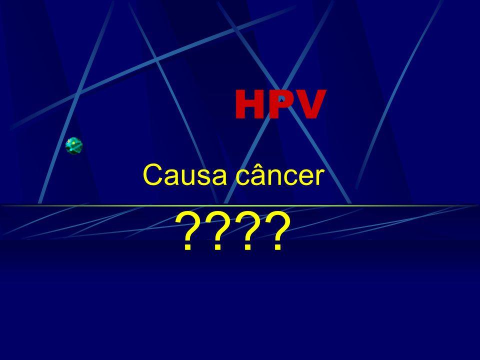 HPV Causa câncer