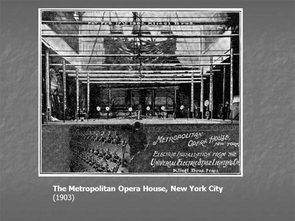 The Metropolitan Opera House, New York City (1903)