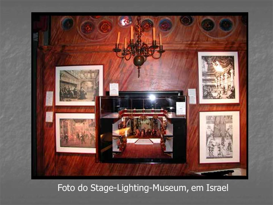 Foto do Stage-Lighting-Museum, em Israel