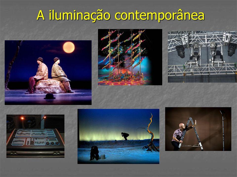 A iluminação contemporânea