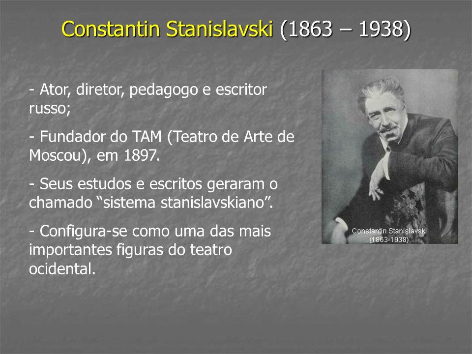 Constantin Stanislavski (1863 – 1938)
