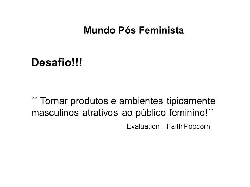 Desafio!!! Mundo Pós Feminista