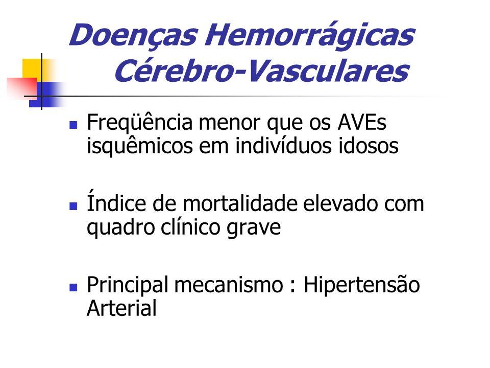 Doenças Hemorrágicas Cérebro-Vasculares