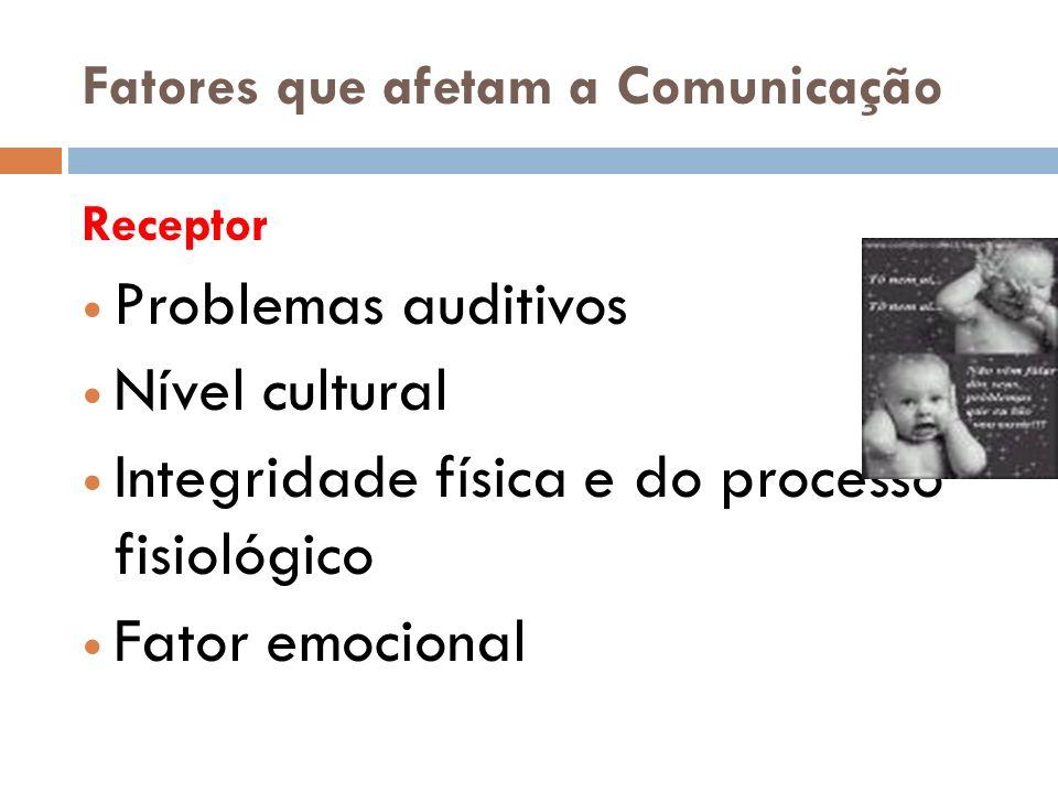 Fatores que afetam a Comunicação