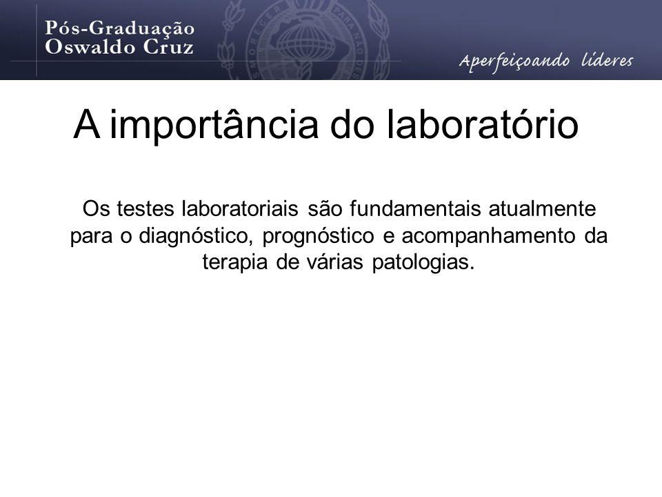 A importância do laboratório