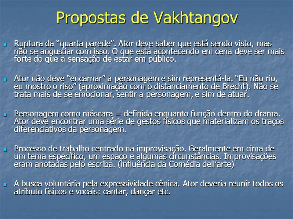 Propostas de Vakhtangov