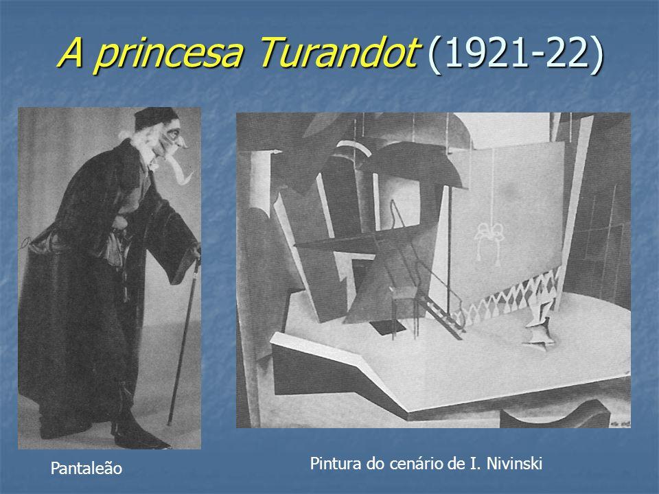 A princesa Turandot (1921-22)