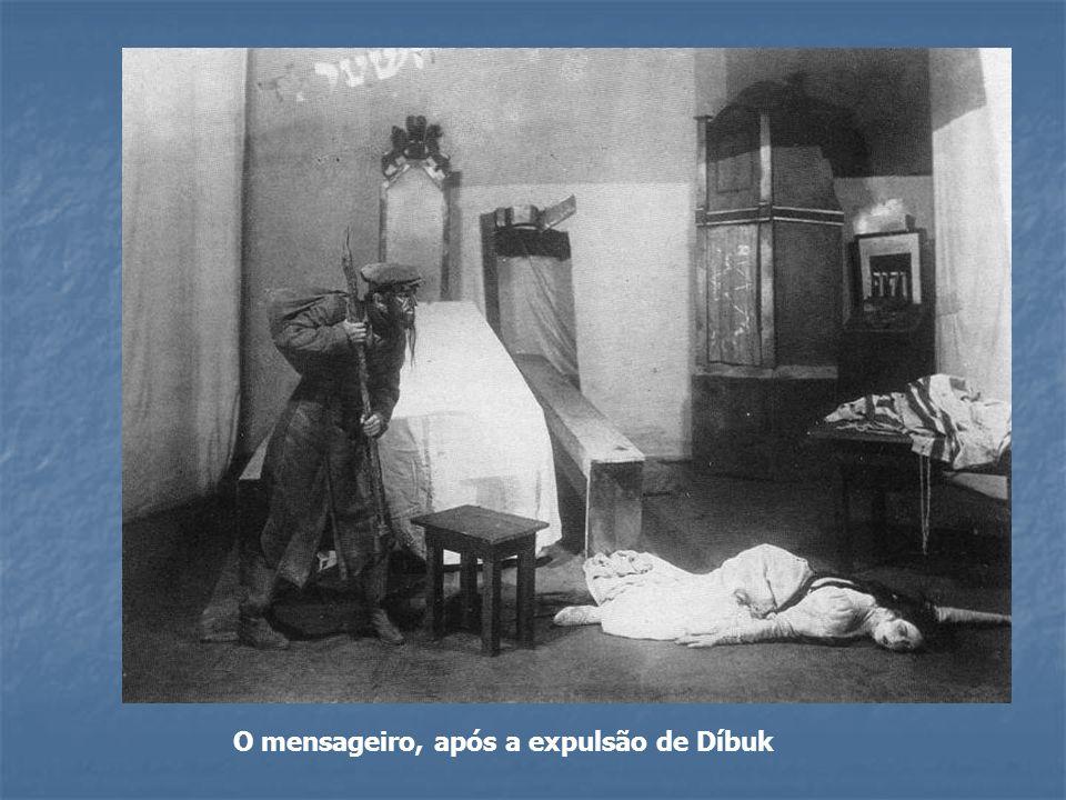 O mensageiro, após a expulsão de Díbuk