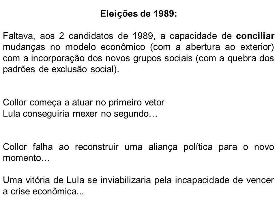 Eleições de 1989: