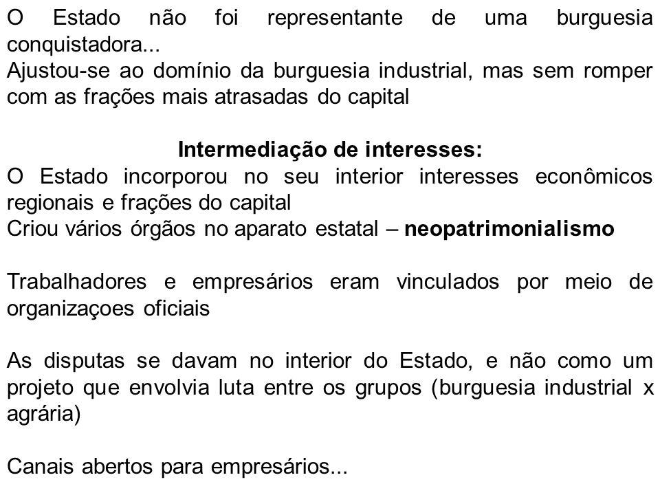 Intermediação de interesses: