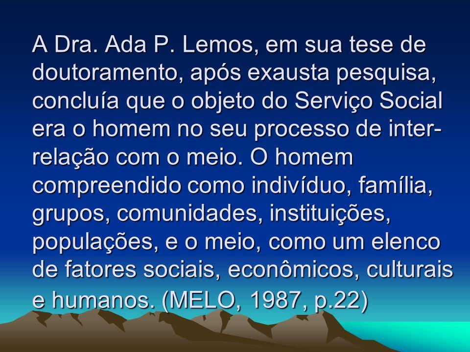 A Dra. Ada P.