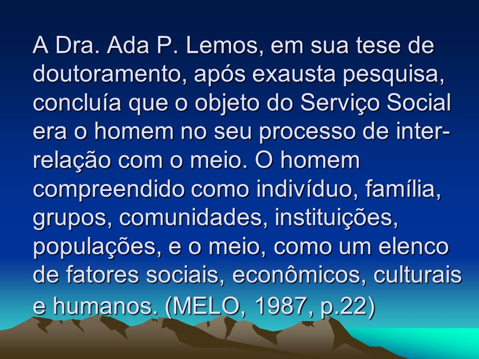A Dra.Ada P.