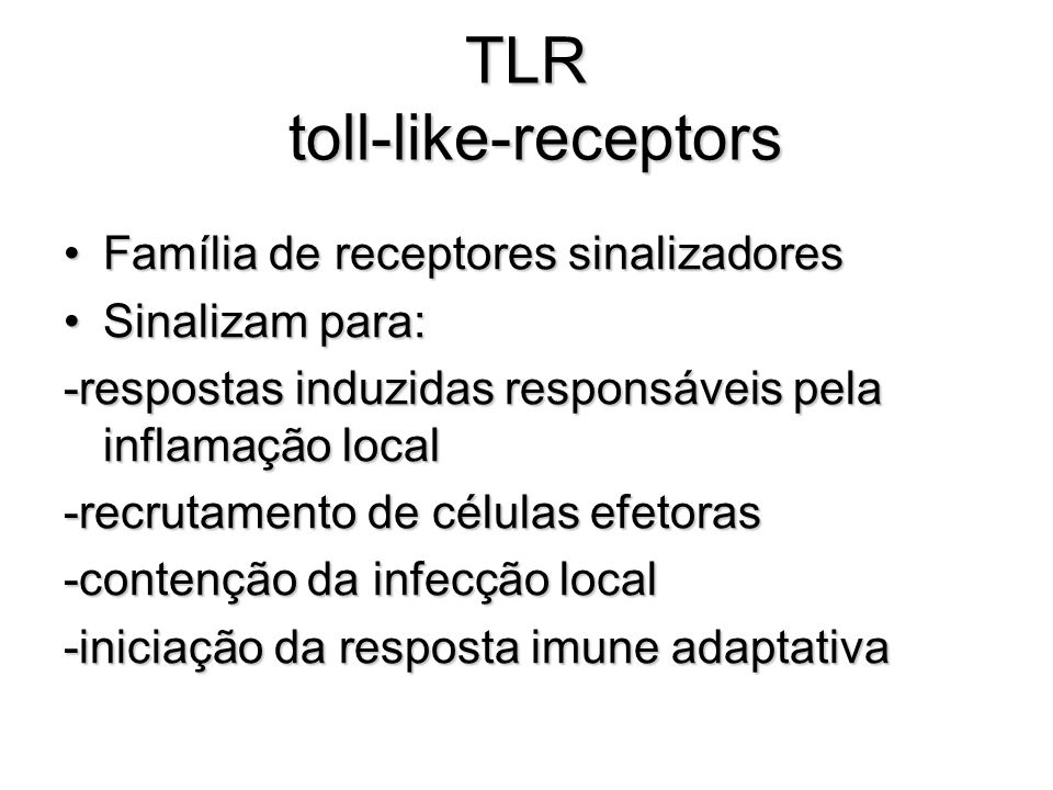 TLR toll-like-receptors