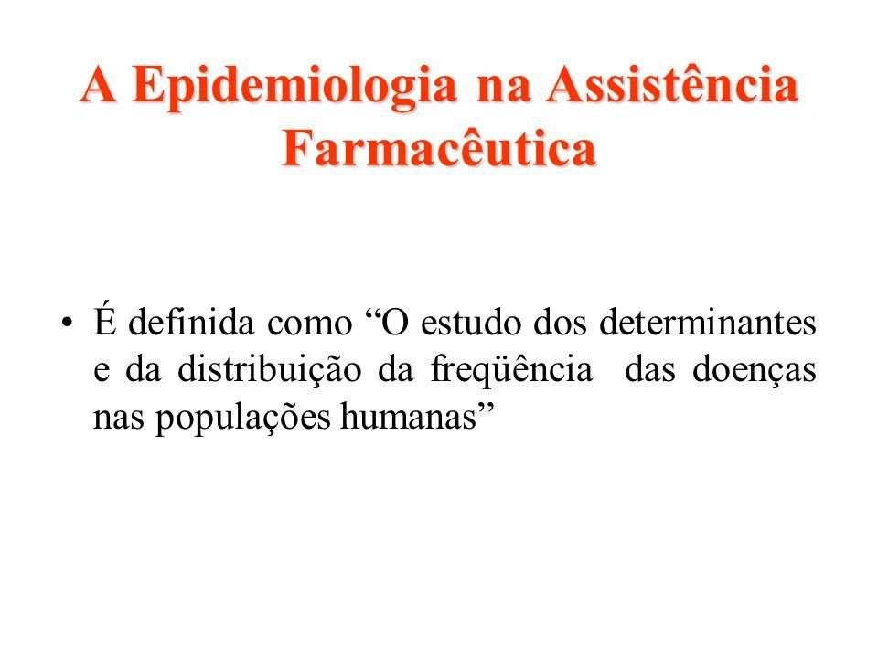 A Epidemiologia na Assistência Farmacêutica