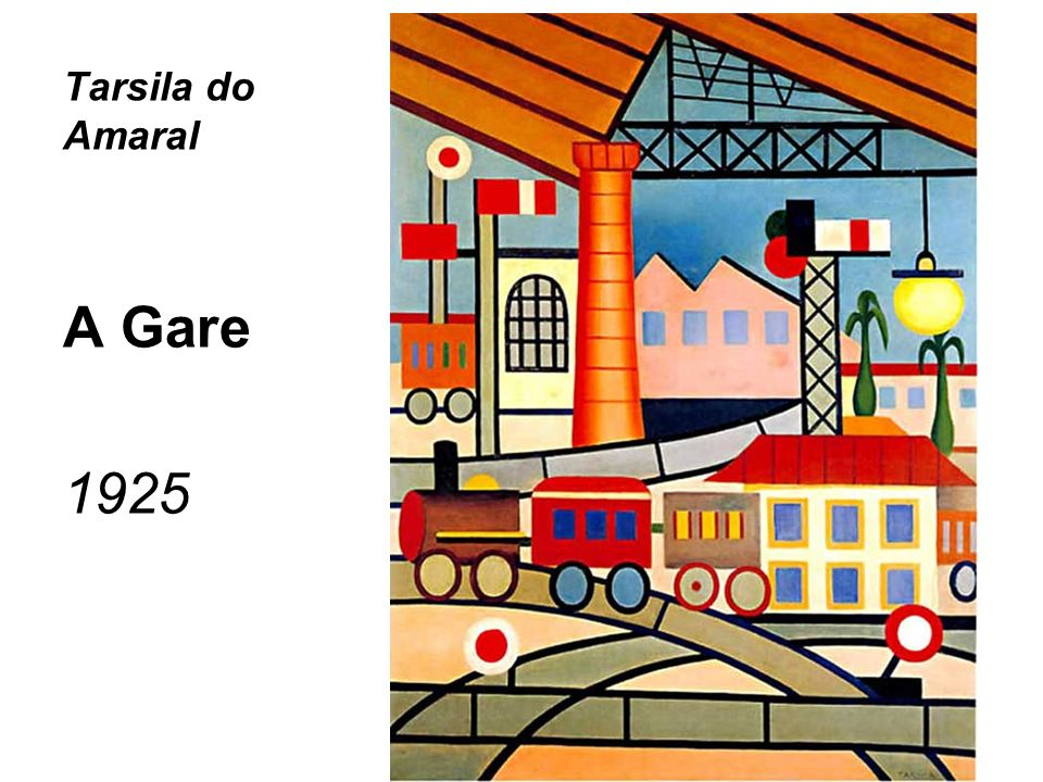 Tarsila do Amaral A Gare 1925