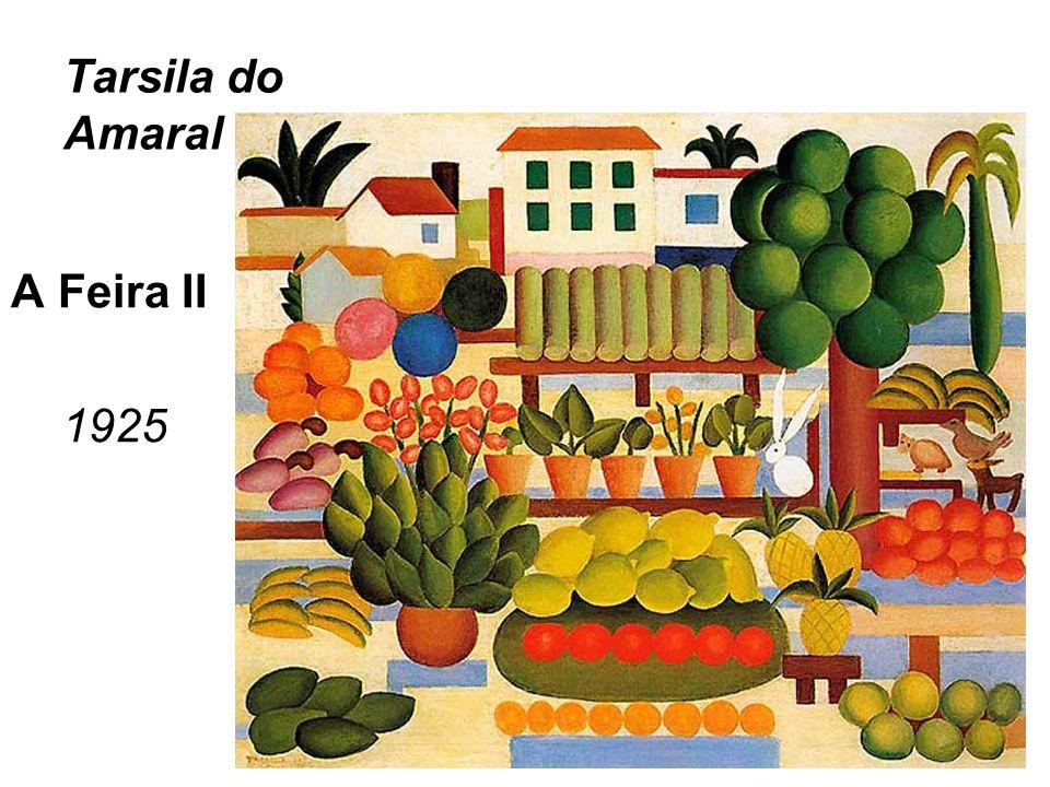 Tarsila do Amaral A Feira II 1925