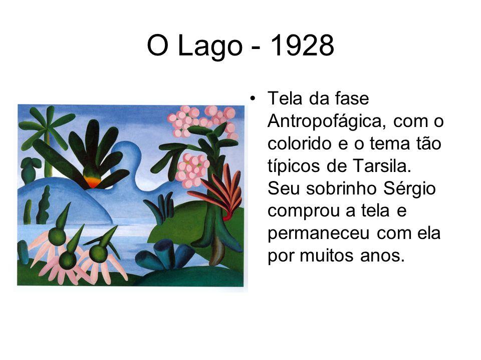 O Lago - 1928