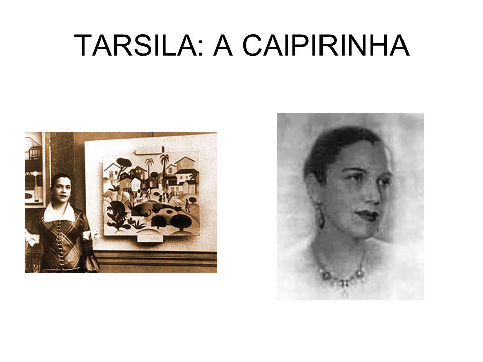 TARSILA: A CAIPIRINHA