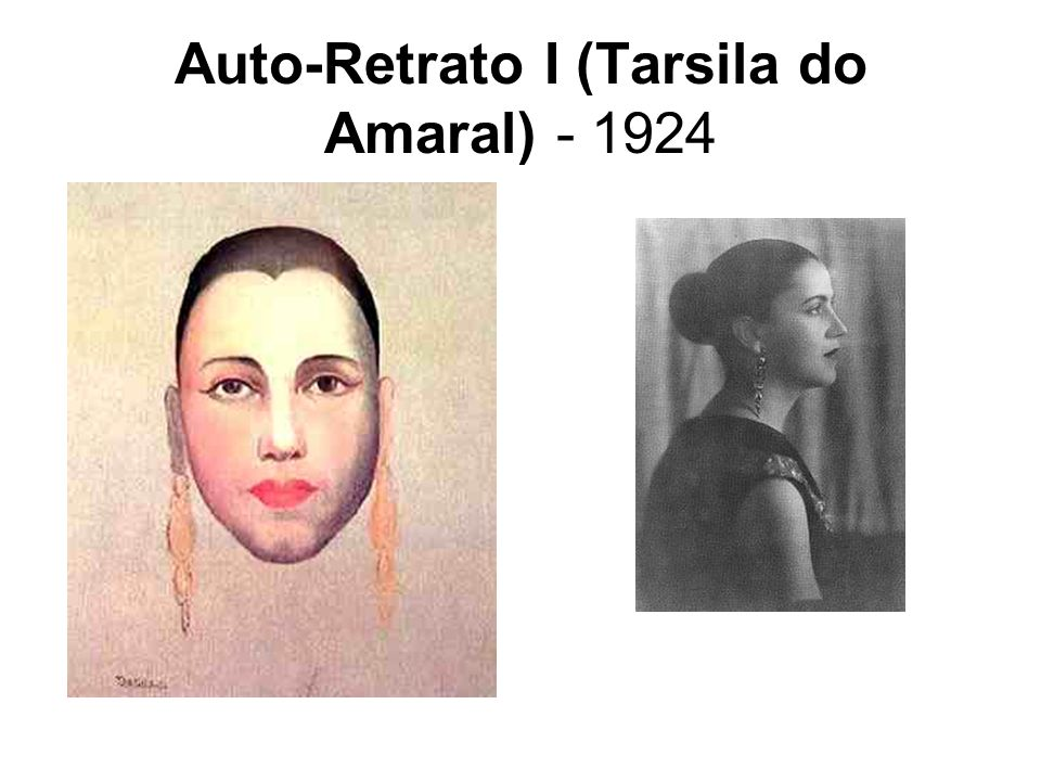 Auto-Retrato I (Tarsila do Amaral) - 1924