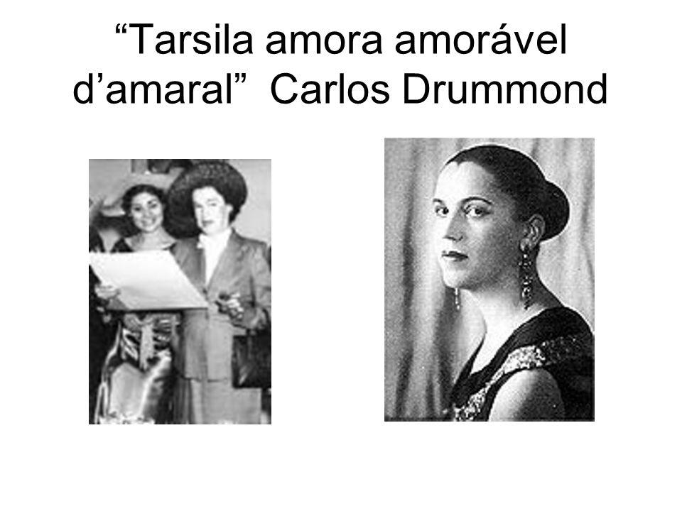 Tarsila amora amorável d'amaral Carlos Drummond