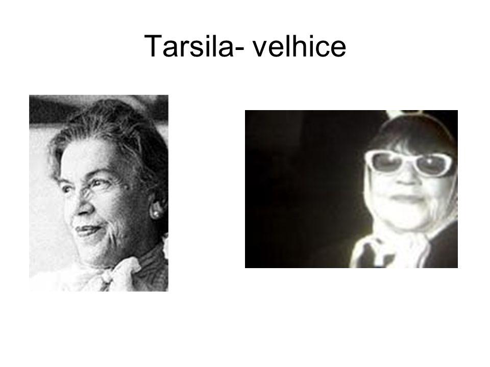 Tarsila- velhice