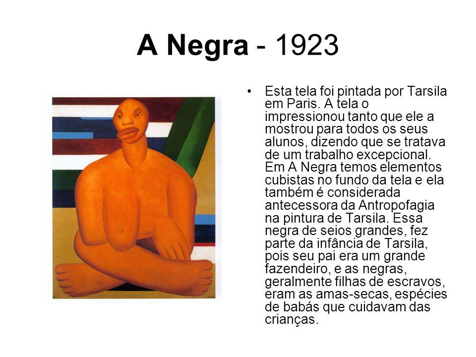 A Negra - 1923