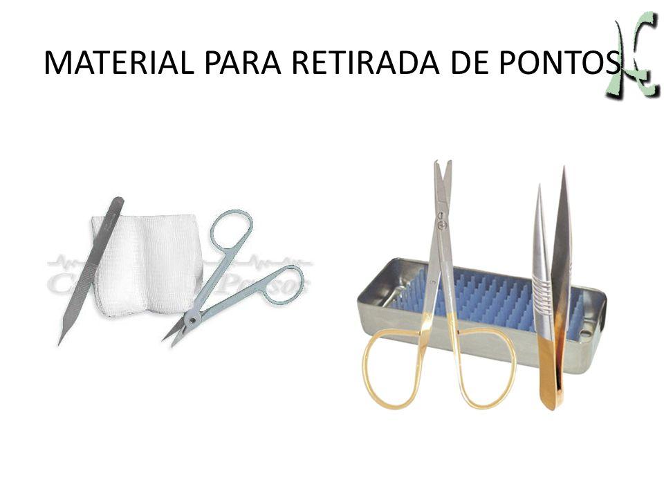 MATERIAL PARA RETIRADA DE PONTOS