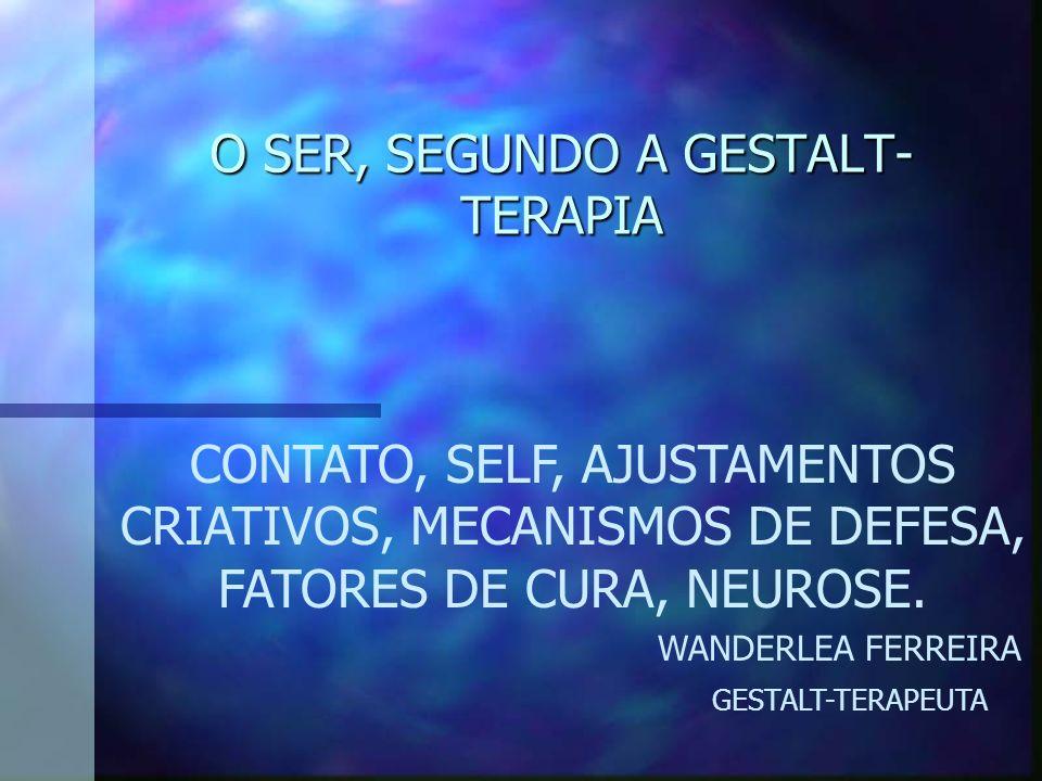 O SER, SEGUNDO A GESTALT-TERAPIA