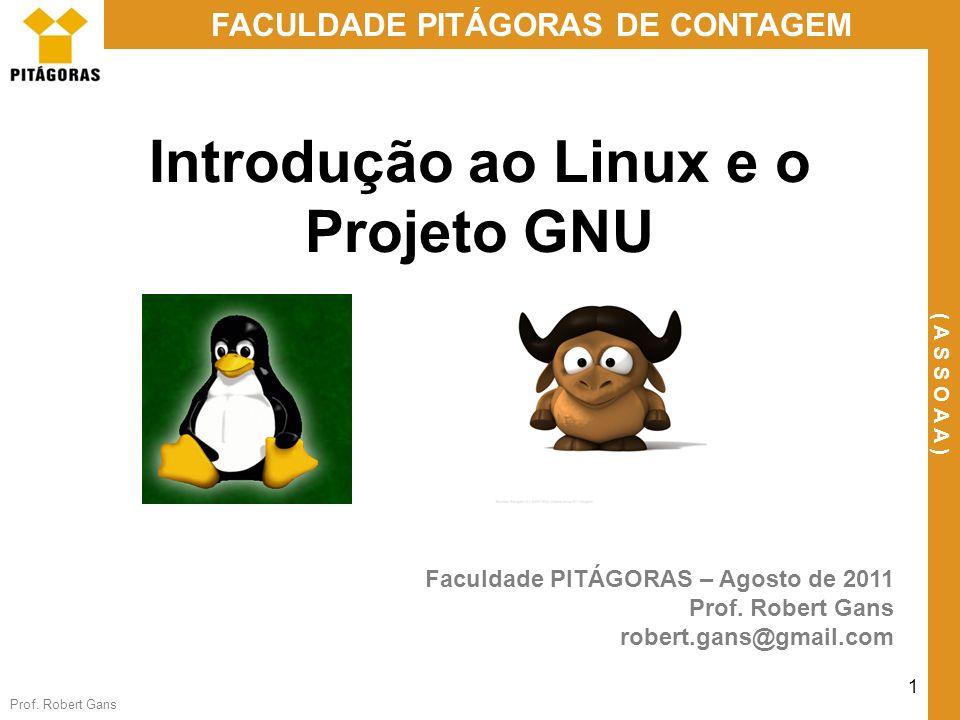 Introdução ao Linux e o Projeto GNU