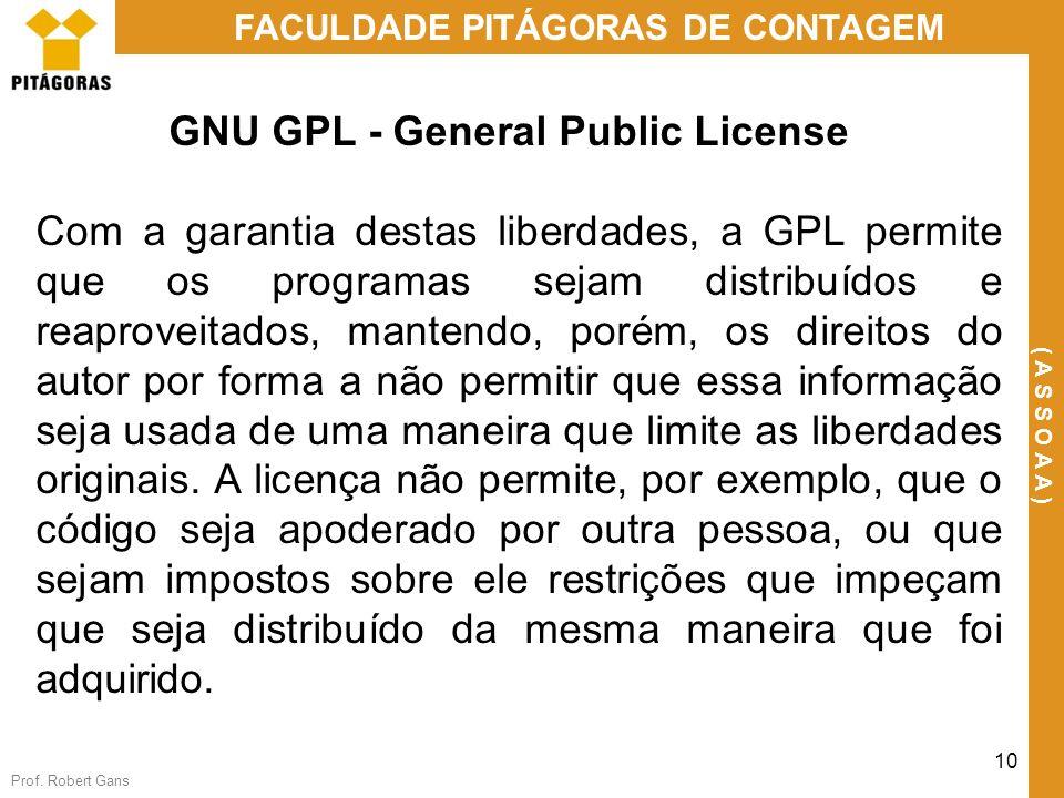 GNU GPL - General Public License