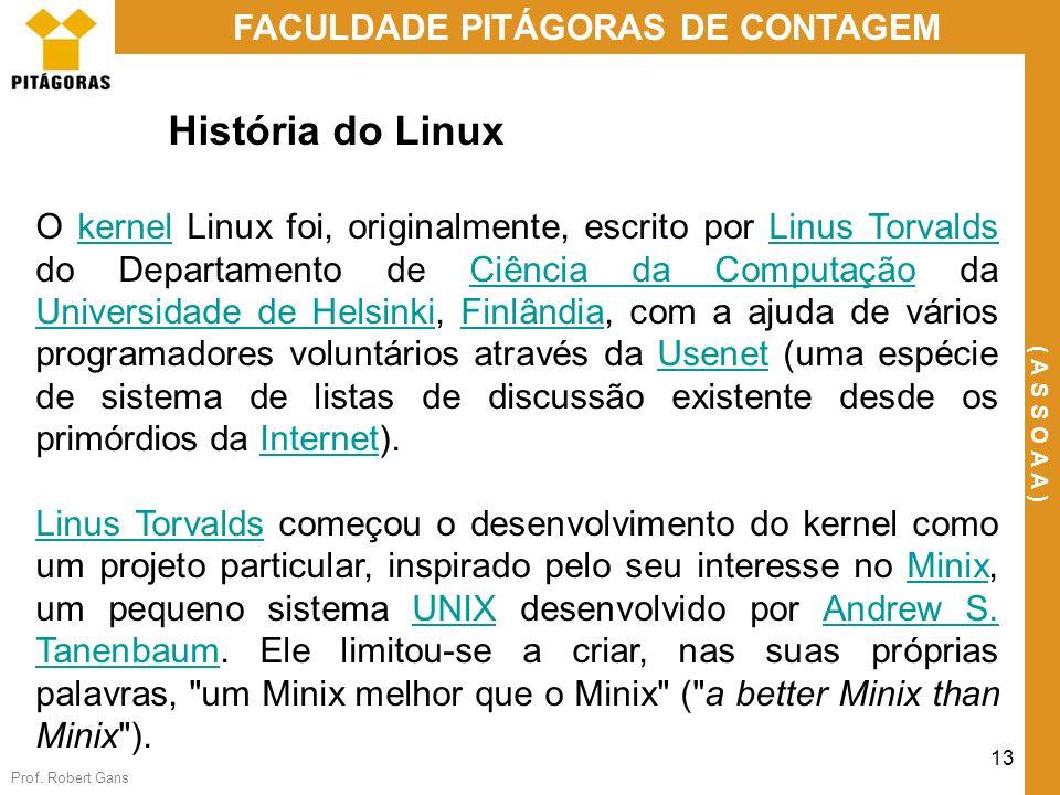 História do Linux