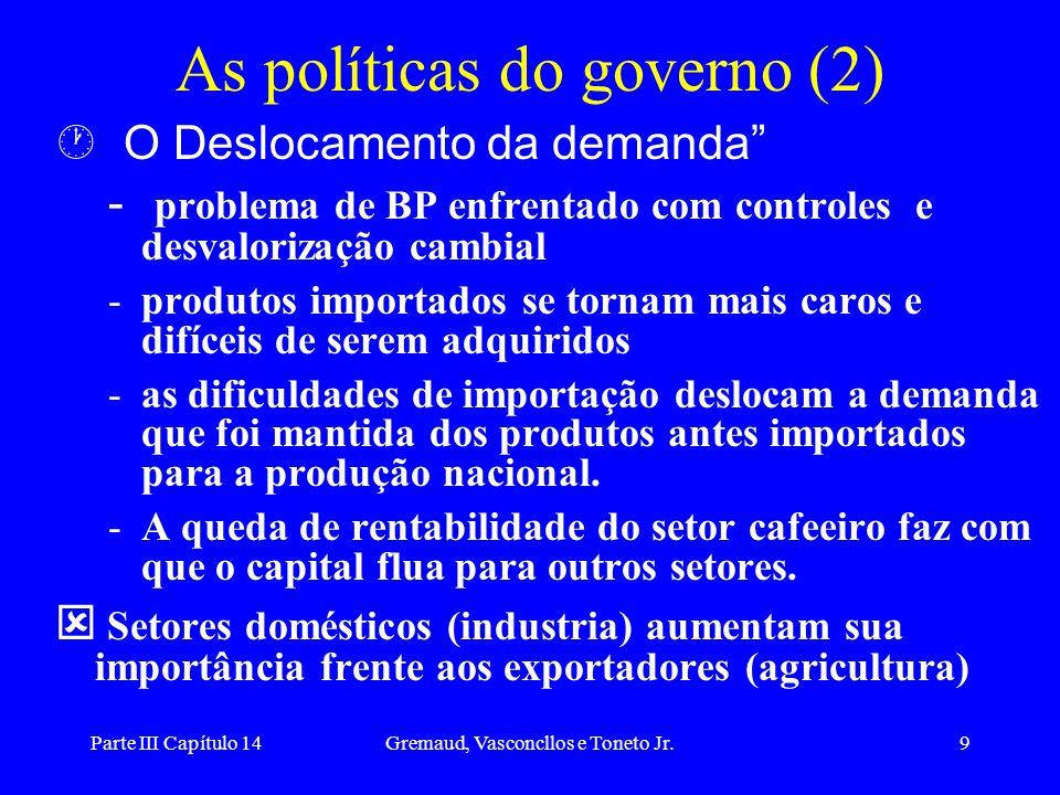 As políticas do governo (2)