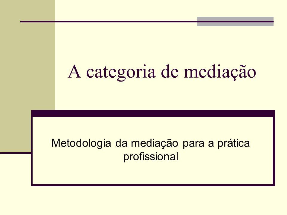 A categoria de mediação