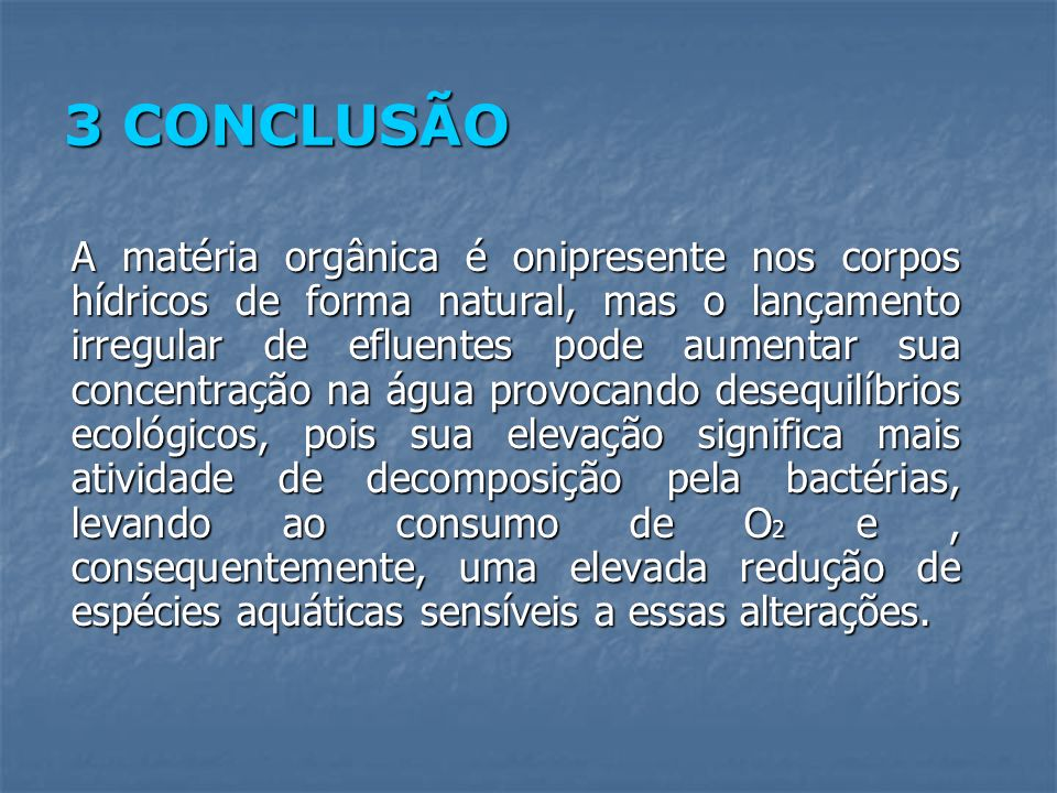 3 CONCLUSÃO