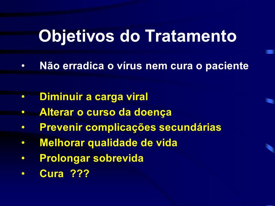 Objetivos do Tratamento
