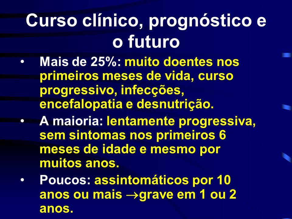 Curso clínico, prognóstico e o futuro