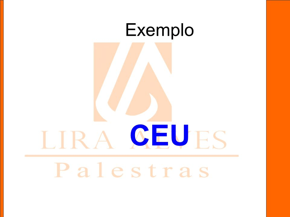 Exemplo CEU
